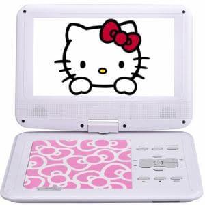 AVOX ADP-9030MKTY-P 9インチポータブルDVDプレーヤー ハローキティ ピンク