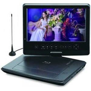 グリーンハウス GH-PBD10DT-BK (10V型 地上デジタル/ワンセグ対応 ポータブルブルーレイディスクプレーヤー)
