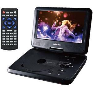 オーム DVDP-373Z 9インチポータブルDVDプレーヤー AudioComm OHM