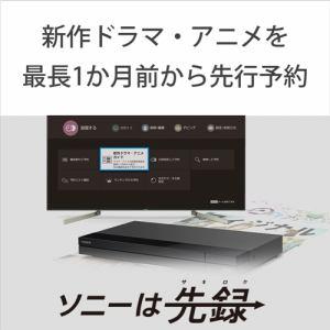 ソニー BDZFBW1000 ブルーレイレコーダー