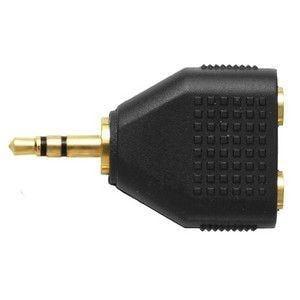 オーディオテクニカ ヘッドホン分配プラグ AT3C25S