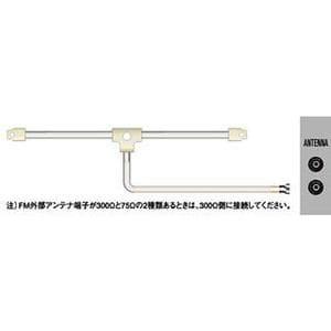 ビクター 日本ビクター オーディオ用アンテナ CN-511B