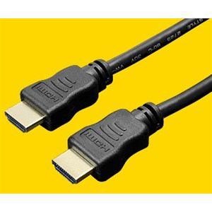 ミヨシ イーサネット対応 ハイスピード HDMIケーブル 0.7m ブラック HDC-07/BK