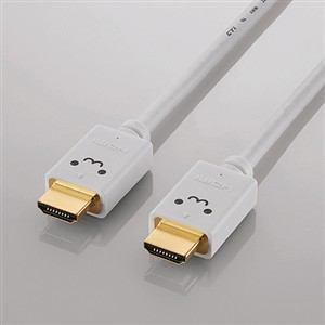 エレコム イーサネット対応HIGHSPEED HDMIケーブル 1.0m ホワイト DH-HD14E210WH