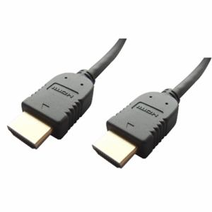 富士パーツ FVC-HDS20BK イーサネット対応HDMIケーブル 2.0m ブラック