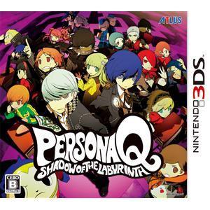 アトラス ペルソナQ シャドウ オブ ザ ラビリンス 3DS CTR-P-AQQJ