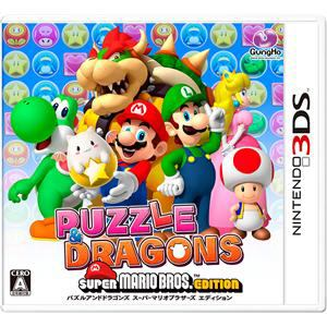ガンホー 3DS PUZZLE & DRAGONS SUPER MARIO BROS. EDITION 【3DS】