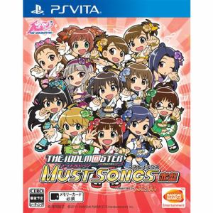 アイドルマスター マストソングス 赤盤 PS Vita VLJS-00120