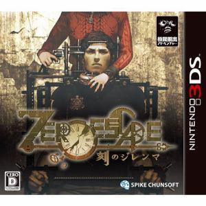 スパイク・チュンソフト ZERO ESCAPE 刻のジレンマ 3DS CTR-P-BZGJ