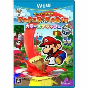 任天堂 ペーパーマリオ カラースプラッシュ Wii U WUP-P-CNFJ