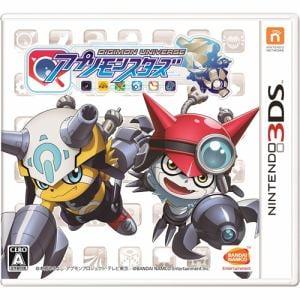 デジモンユニバース アプリモンスターズ 3DS CTR-P-AUDJ