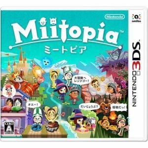 任天堂 Miitopia 3DS CTR-P-ADQJ