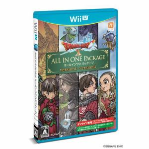 ドラゴンクエストⅩ オールインワンパッケージ WiiU版 WUP-P-WDQJ (version1~4)