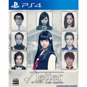 √Letter ルートレター Last Answer PS4版 PLJM-16314