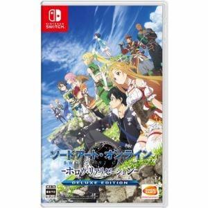 ソードアート・オンライン -ホロウ・リアリゼーション- DELUXE EDITION Nintendo Switch版 HAC-P-AQTHA