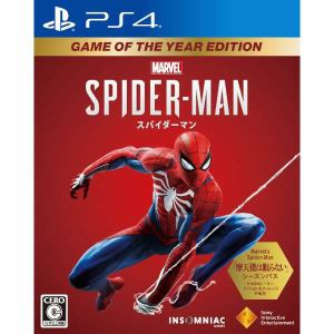 Marvel's Spider-Man Game of the Year Edition PS4 PCJS-66056