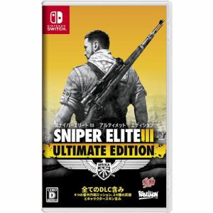 SNIPER ELITE Ⅲ ULTIMATE EDITION Nintendo Switch HAC-P-AQ3RC