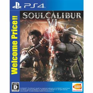 SOULCALIBUR Ⅵ Welcome Price!! PS4 PLJS-36135
