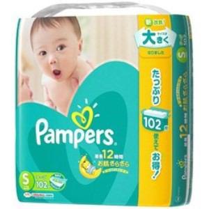 P&G Pampers(パンパース) さらさらケア テープ Sサイズ 102枚