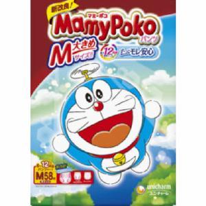 ユニ・チャーム株式会社 マミーポコパンツ ドラえもん M 58枚