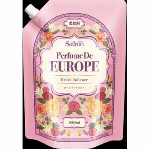 トイレタリージャパンインク 香りサフロン柔軟剤パフュームドヨーロッパ ローズブーケの香り大容量 1000ml