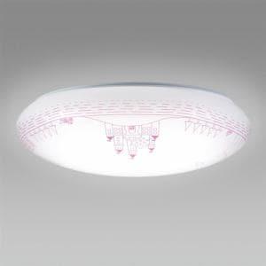 ホタルクス HLDC08224SG LEDシーリングライト 調色 お城物語 8畳