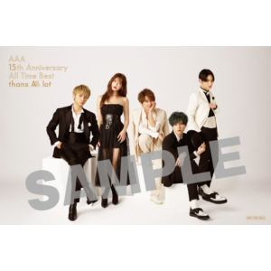 【CD】AAA / AAA 15th Anniversary All Time Best -thanx AAA lot-(初回生産限定盤)
