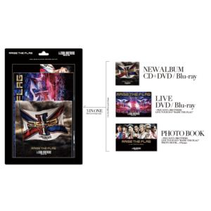 【CD】三代目 J SOUL BROTHERS from EXILE TRIBE / RAISE THE FLAG(初回生産限定盤)(3Blu-ray Disc付)