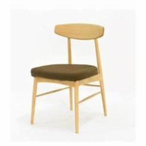 大塚家具 椅子 ユノA レッドオーク材 カバーリングタイプ ブラウン
