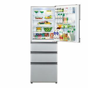 AQUA AQR-361F(S) 4ドア冷蔵庫(355L・右開き) ミスティシルバー