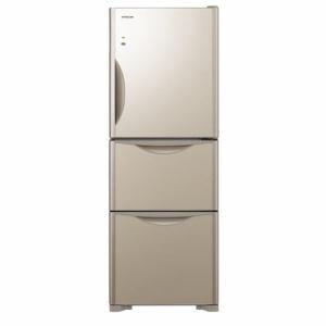 日立 R-S2700HV-XN 3ドア冷蔵庫 (265L・右開き) クリスタルシャンパン