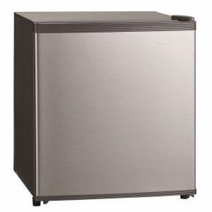 三ツ星貿易 SKM-45 1ドア冷蔵庫 (47L・右開き) シルバーグレー
