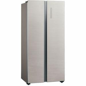 AQUA AQR-SBS45F(S) 2ドア冷蔵庫 (449L・フレンチドア) ヘアラインシルバー