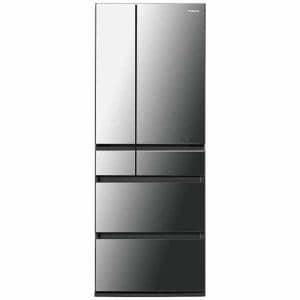 パナソニック NR-F553HPX-X 6ドアパーシャル搭載冷蔵庫 「HPXタイプ」(550L・フレンチドア) オニキスミラー