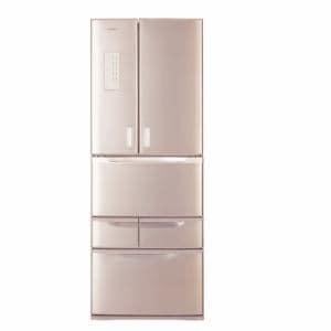 東芝 GR-507F-N 6ドア冷蔵庫 (501L・フレンチドア) レディッシュゴールド