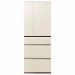 パナソニック NR-F503XPV-N 6ドア冷蔵庫 「XPVタイプ」 (501L・フレンチドア) シャンパンゴールド