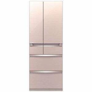三菱 MR-WX60C-F 6ドア冷蔵庫 「WXシリーズ」 (600L・フレンチドア) クリスタルフローラル