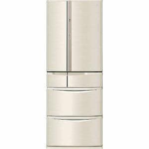 パナソニック NR-F503V-N 6ドア冷蔵庫 (501L・フレンチドア) 「Vタイプ」 シャンパン