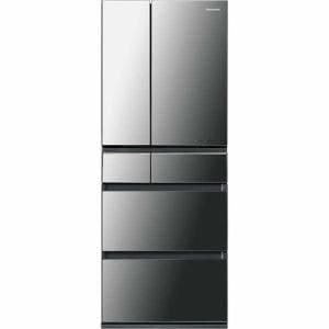 パナソニック NR-F453HPX-X 6ドア冷蔵庫 (450L・フレンチドア) 「HPXタイプ」 オ二キスミラー