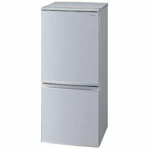 シャープ SJ-D14D-S 2ドア冷蔵庫 (137L・つけかえどっちもドア) シルバー