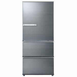 AQUA AQR-SV27G(S) 3ドア冷蔵庫 「SVシリーズ」 (272L・右開き) チタニウムシルバー
