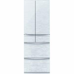 三菱 MR-MX50D-W 6ドア冷蔵庫 「MXシリーズ」 (503L・フレンチドア)クリスタルホワイト