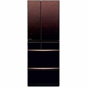 三菱 MR-MX50D-ZT 6ドア冷蔵庫 「MXシリーズ」 (503L・フレンチドア)グラデーションブラウン