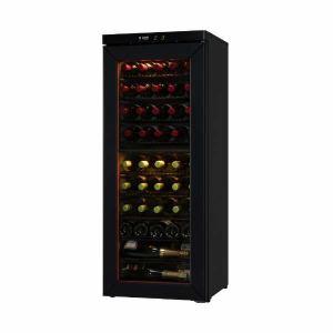 さくら製作所 SS46 二温度管理式 ワインセラー 46本収納 ブラック