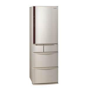 パナソニック NR-E414V-N 5ドア冷蔵庫(406L・右開き) シャンパン