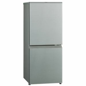 AQUA AQR-13H-S 2ドア冷蔵庫 (126L・右開き) ブラッシュシルバー