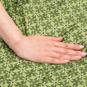 【セットでお得】[長方形 幅105] YKFRR105H1T こたつ本体・布団セット 布団柄 小紋柄 グリーン