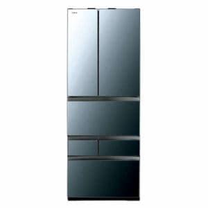 東芝 GR-R550FZ(XK) VEGETA(ベジータ) 6ドア冷蔵庫(551L・フレンチドア) クリアミラー
