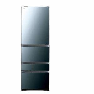 東芝 GR-R470GWL(XK) VEGETA(ベジータ) 5ドア冷蔵庫(465L・左開き) クリアミラー