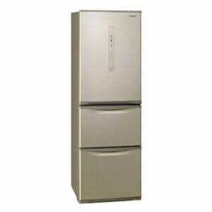 パナソニック NR-C370C-N 3ドア冷蔵庫 (365L・右開き) シルキーゴールド